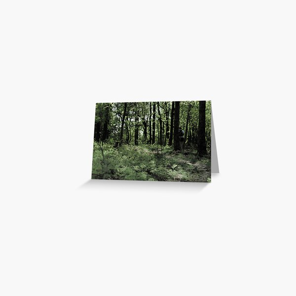 hiking Greeting Card