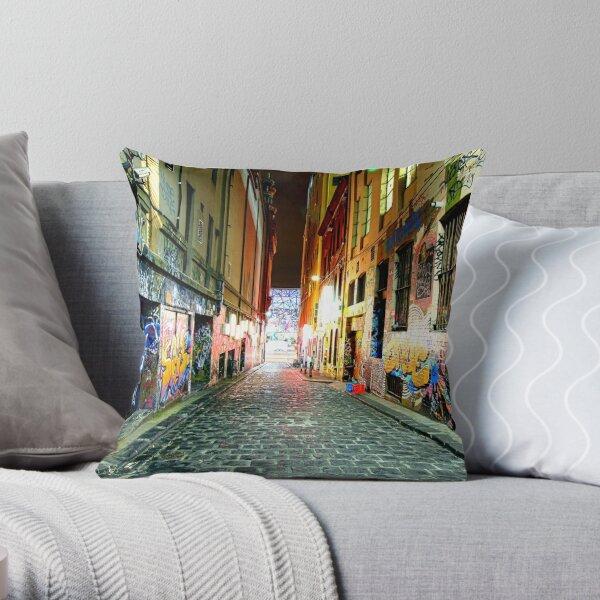 Street Gallery Throw Pillow