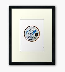 American authors Framed Print