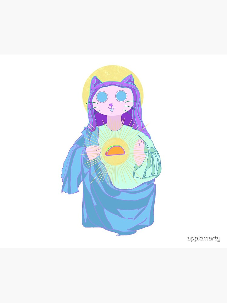Virgin Mary by applemarty