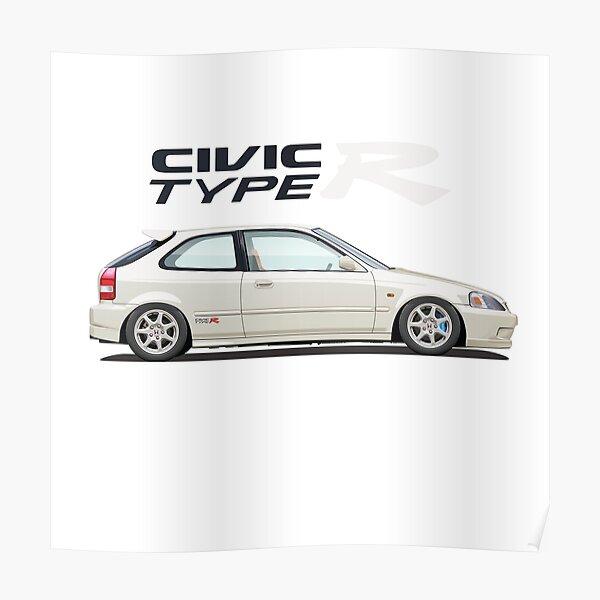 Civic Type R EK Poster