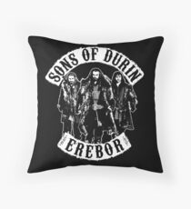 Sons of Durin Throw Pillow