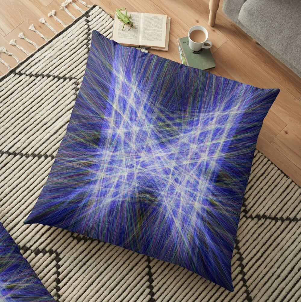 Laser Butterfly Floor Pillow