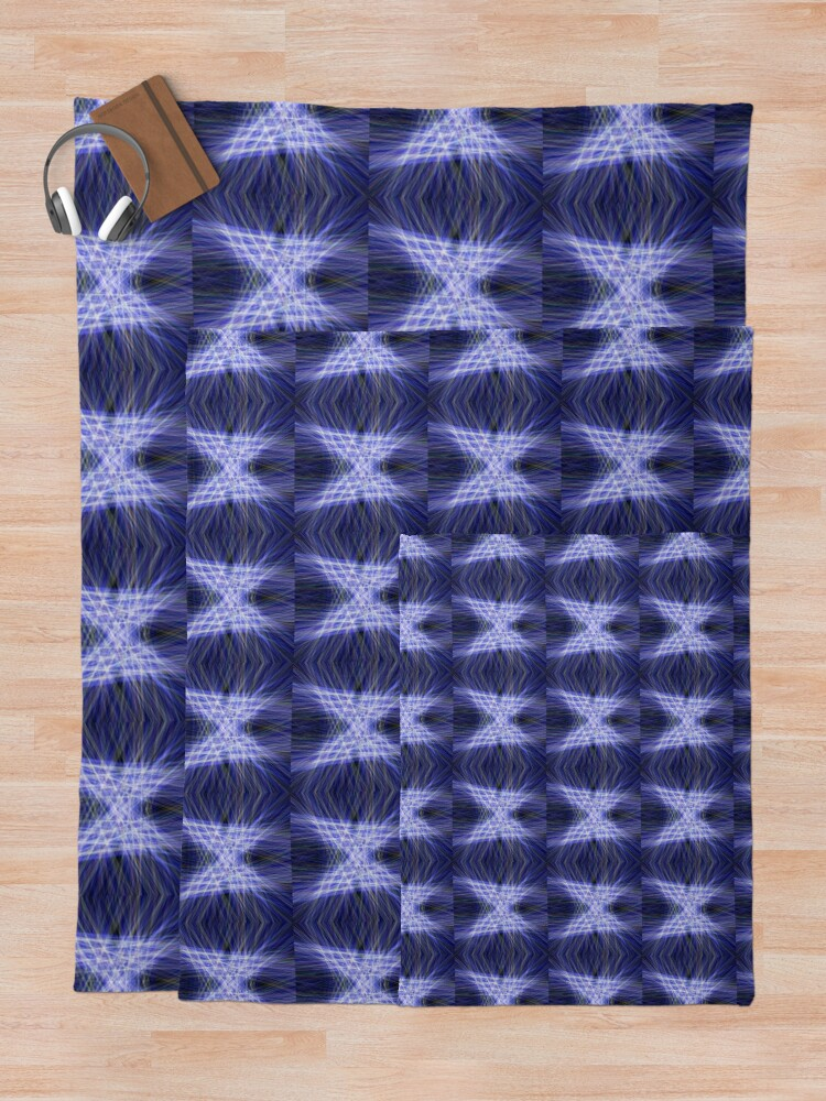 Alternate view of Laser Butterfly Throw Blanket