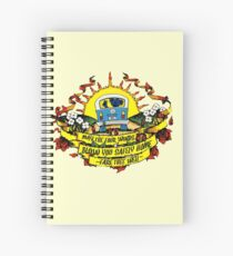 May The Four Winds Blow You Safely Home - Fare Thee Well Spiral Notebook