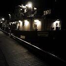 light in darkness by NordicBlackbird