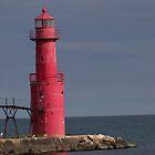 Algoma Pierhead Lighthouse by Michele Markley