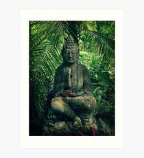 Bali Buddha Art Print