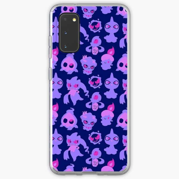 Ghost Pokemon Pattern Samsung Galaxy Soft Case