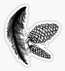 Pinecones Sticker