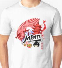 Nippon Sunrise   Experience Japan Unisex T-Shirt