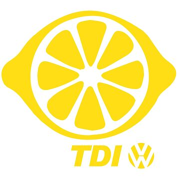 VW TDI Lemon Slice Yellow by parodywagon