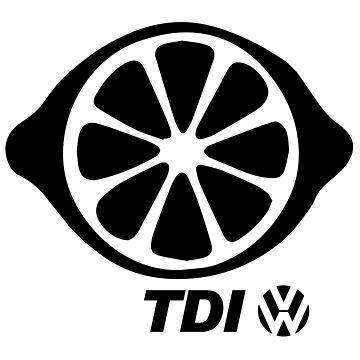 VW TDI Lemon Slice Black by parodywagon