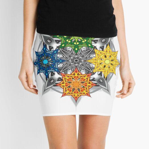 Seasons Mandala Mini Skirt