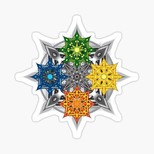 Seasons Mandala Sticker