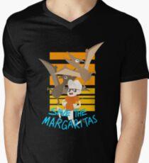 Save the margaritas! Mens V-Neck T-Shirt