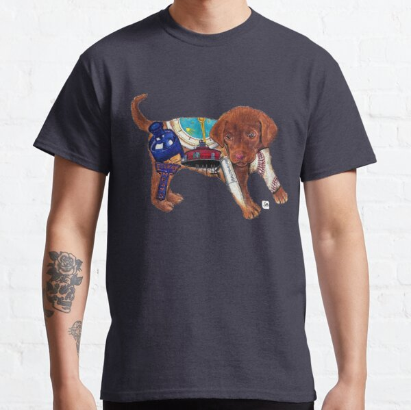 Chesapeake Bay Retriever Dog/Puppy - Original Art by bowlingART Classic T-Shirt