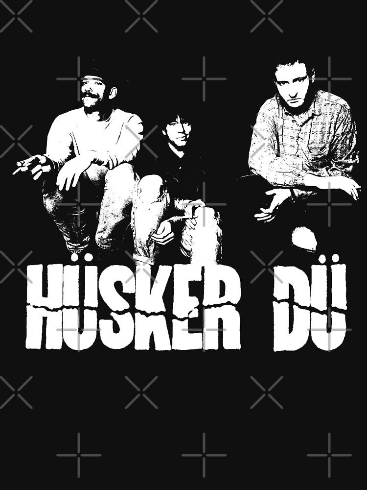 Husker Du - The White Stencil by threeampersands