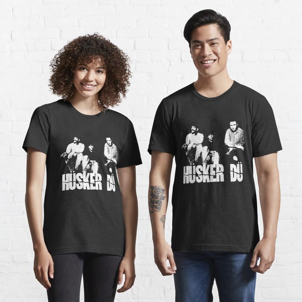 Husker Du - The White Stencil Essential T-Shirt