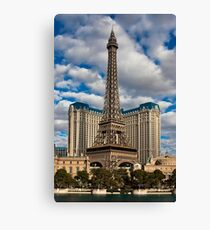 Paris Paris Canvas Print