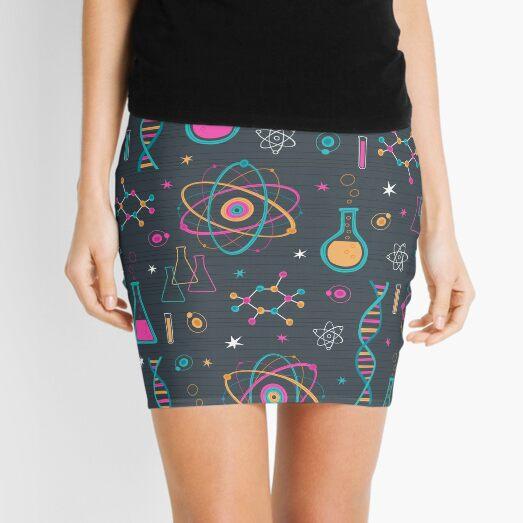 Midcentury Modern Science Mini Skirt