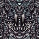 Organic Mech - Xenomorph by Penelope Barbalios