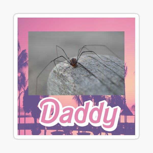Daddy Long Legs Sticker