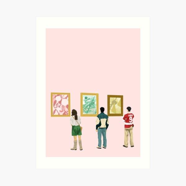 Ferris Bueller at the Art Museum Art Print