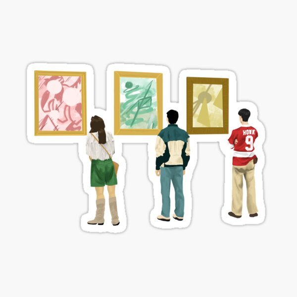 Ferris Bueller at the Art Museum Sticker