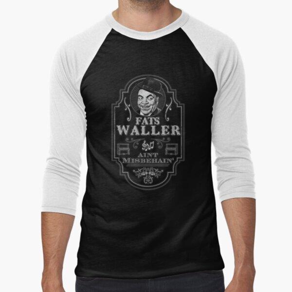 Fats Waller Tribute Baseball ¾ Sleeve T-Shirt