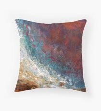 Tidal Rage Throw Pillow