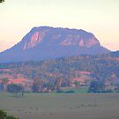 Unknown mountain. ? by Virginia McGowan