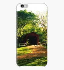Covered Bridge iPhone Case