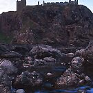 Dunnottar castle from the shore by martincanale