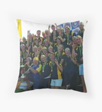 Willi Aussie Champs (03) Throw Pillow