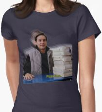 Pizza time! Women's Fitted T-Shirt