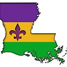 Louisiana Mardi Gras Love! by Sun Dog Montana