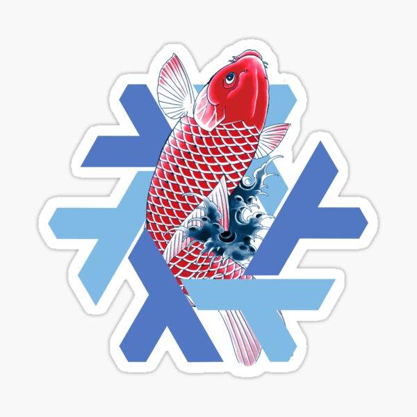 Nixos 19.03 Koi  Sticker