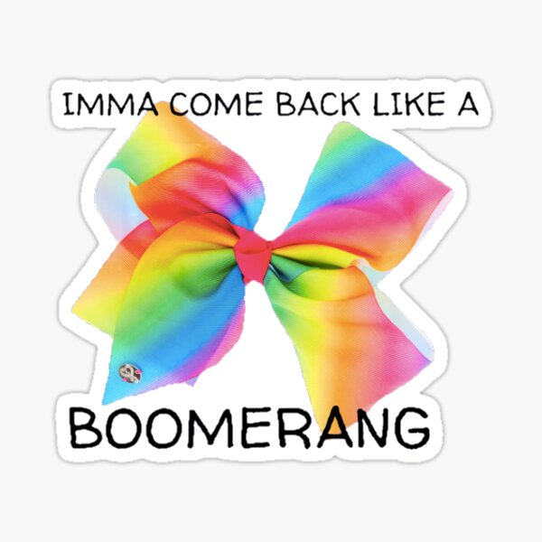 jojo siwa bow Sticker