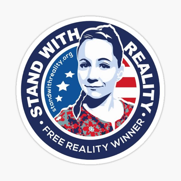 Stand With Reality Sticker