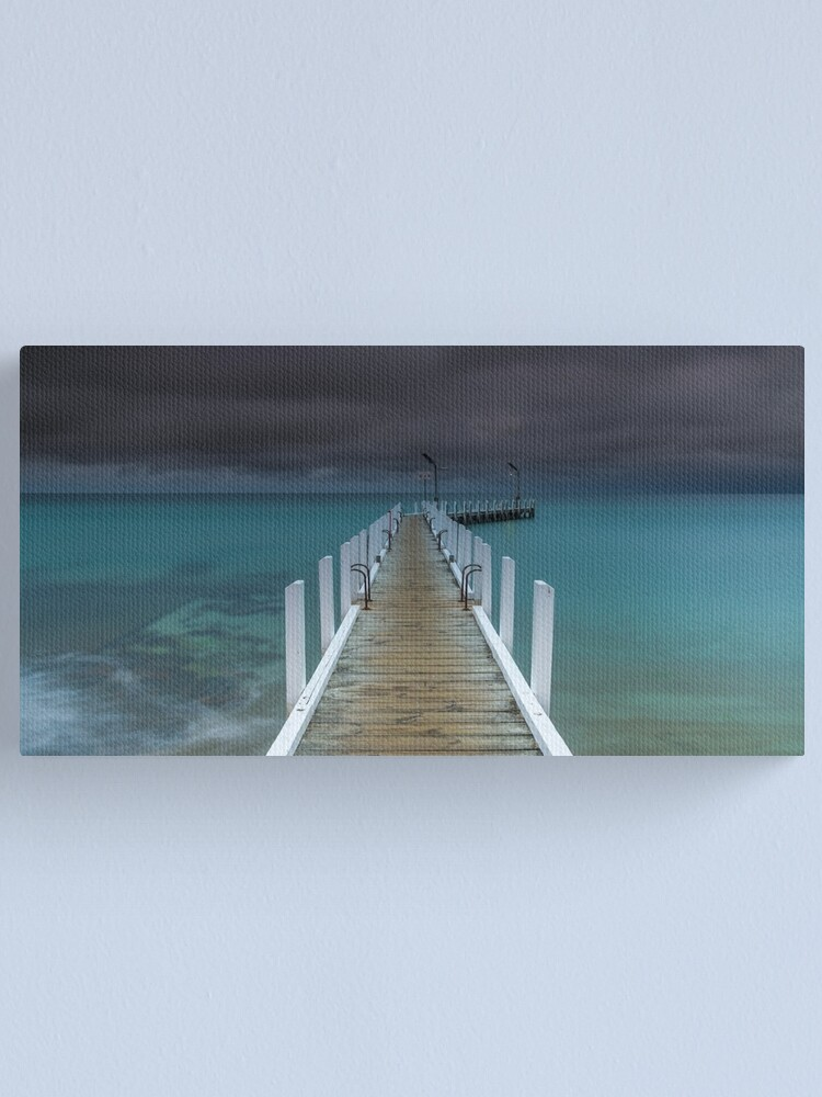 Alternate view of Safety Beach Jetty Canvas Print