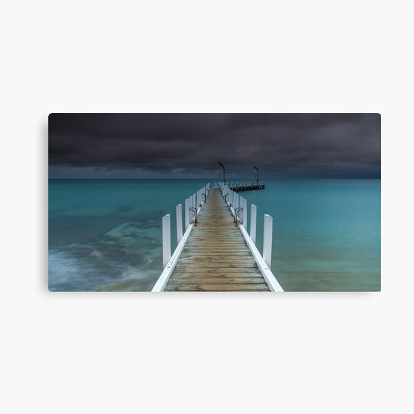 Safety Beach Jetty Canvas Print