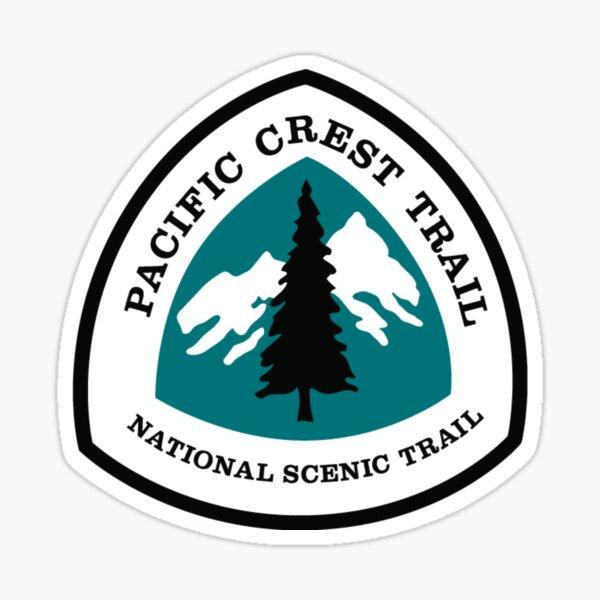 Pacific Crest Trail Logo Shirt, Stickers, Etc Sticker