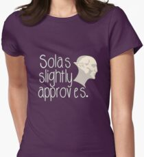 Solas Slightly Approves Women's Fitted T-Shirt