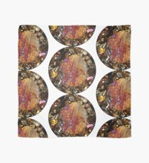 Barred Olivine Chondrule in Meteorite Thin Section Scarf