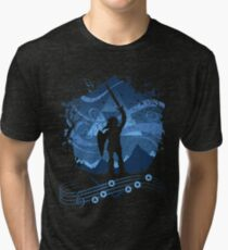Song of Storms Tri-blend T-Shirt