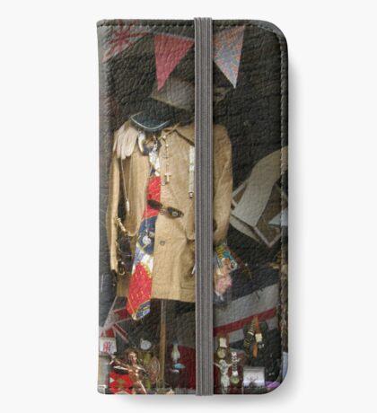 Vintage Window Display iPhone Flip-Case