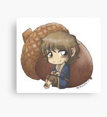 Bilbo & Acorn Canvas Print
