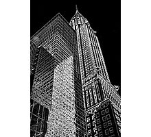 """""""Chrysler Building Outline"""" by miketv 