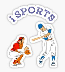 Sports, baseball, action Sticker